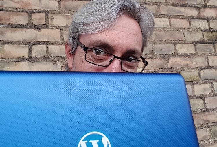 Min MacBook og mig